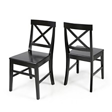 Roshan Dining Chairs (Set of 2), Quick Ship