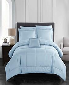 Jordyn 8 Piece King Bed In a Bag Comforter Set