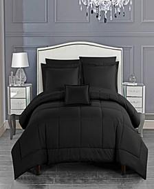 Jordyn 8 Piece Queen Bed In a Bag Comforter Set