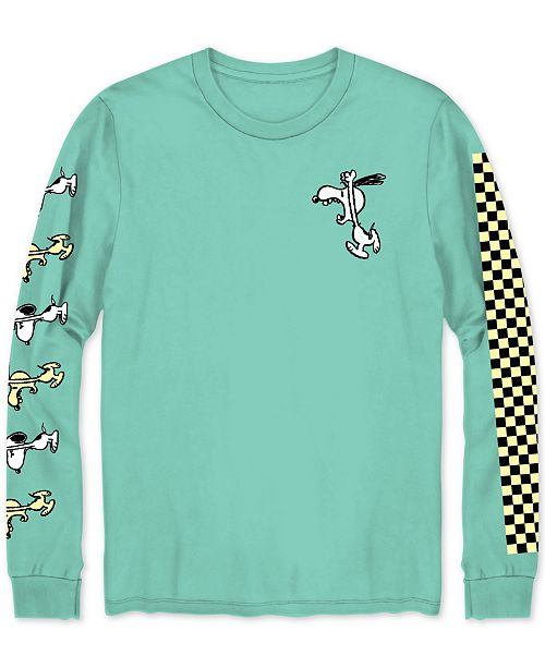 7762e6601 Hybrid Peanuts Angry Snoopy Men's Graphic T-Shirt & Reviews - T ...