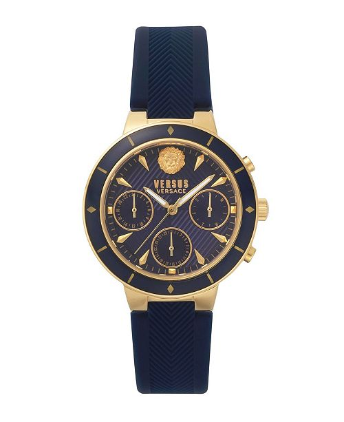 032e5085d9b ... Versus by Versace Versus Women s Harbour Heights Blue Leather Strap  Watch ...