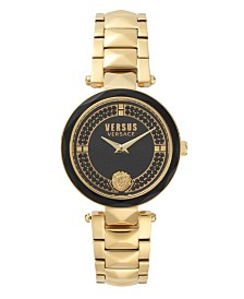 Versus Women's Yellow Gold Bracelet Watch 18mm
