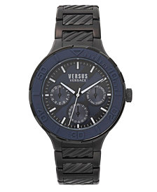Versus Men's Wynberg Black Stainless Steel Bracelet Watch 44mm