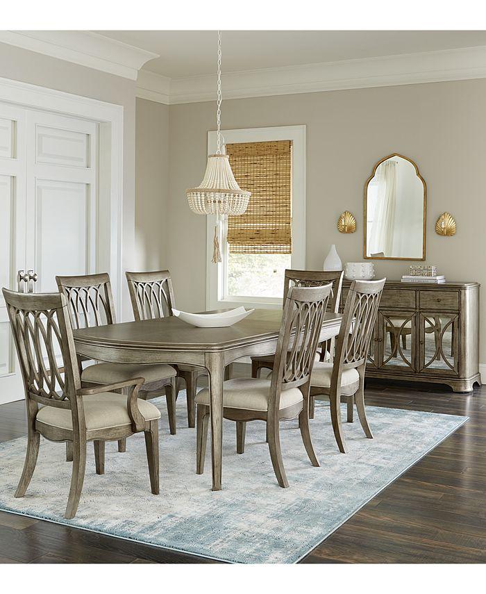 Furniture Kelly Ripa Home Hayley Dining, Macys Dining Room Table