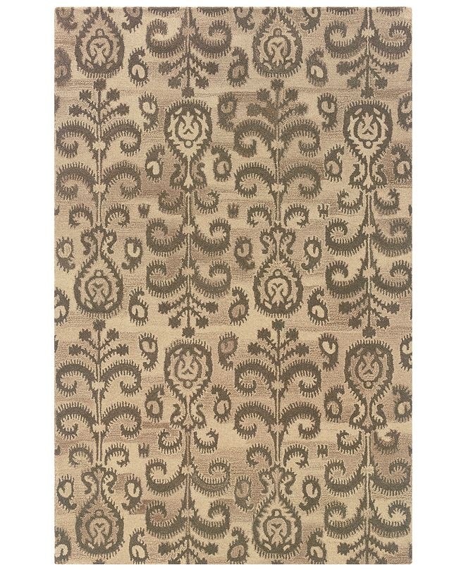 Oriental Weavers Anastasia 68002 Sand/Brown 5' x 8' Area Rug