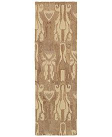 "Oriental Weavers Anastasia 68005 Sand/Tan 2'6"" x 8' Runner Area Rug"