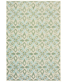 "Oriental Weavers Barbados 5994 6'7"" x 9'6"" Indoor/Outdoor Area Rug"