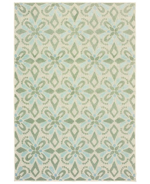 "Oriental Weavers Barbados 5994 5'3"" x 7'6"" Indoor/Outdoor Area Rug"