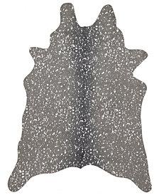 """Loloi Bryce BZ-03 Graphite/Silver 6'2"""" x 8' Area Rug"""