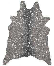 """Loloi Bryce BZ-03 Graphite/Silver 5' x 6'6"""" Area Rug"""