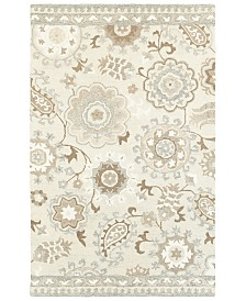 Oriental Weavers Craft 93005 Ivory/Gray 10' x 13' Area Rug