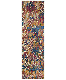 "Loloi Dreamscape DM-05 Tropical 2'3"" x 10' Runner Area Rug"