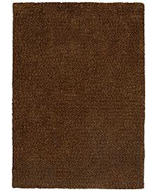 Oriental Weavers Heavenly Shag 73404 Brown/Brown 5' x 7' Area Rug