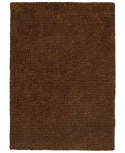 Oriental Weavers Heavenly Shag 73404 Brown/Brown 3' x 5' Area Rug