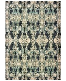 "Oriental Weavers Raleigh 5507B Gray/Blue 9'10"" x 12'10"" Area Rug"