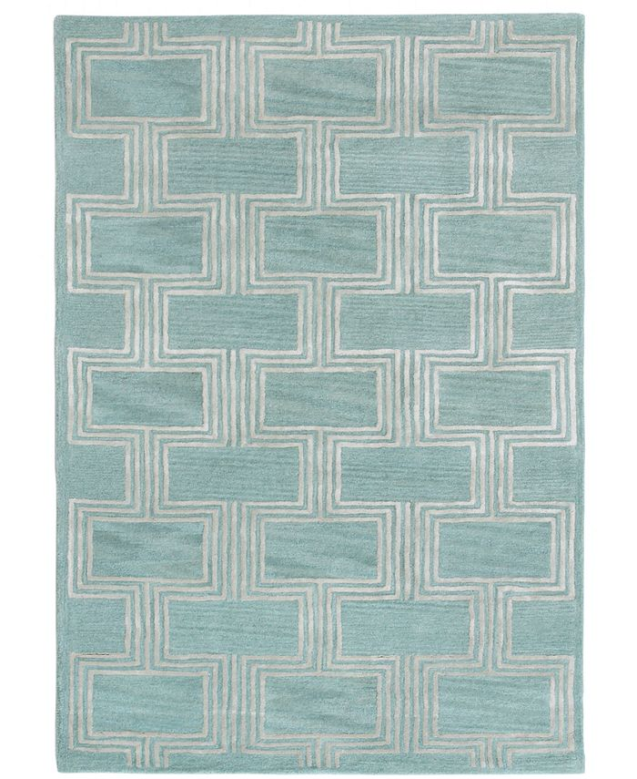 Liora Manne' - Roma 9304 Boxes 5' x 8' Area Rug