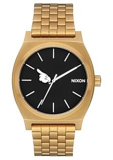 Nixon Men's Time Teller Mickey Stainless Steel Bracelet Watch 37mm