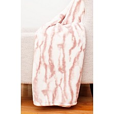 "Taiga Marble Loft Fleece Decorative 50"" x 60"""