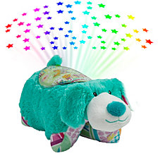 Pillow Pets Colorful Pup Sleeptime Lite