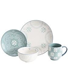 Phara 16 Piece Dinnerware Set