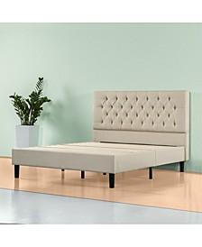 Misty Platform Bed Frame / No Box Spring Needed, Full