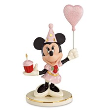 Birthday Cheer From Minnie Figurine