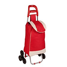 Honey Can Do Large Rolling Knapsack Bag Cart, Red