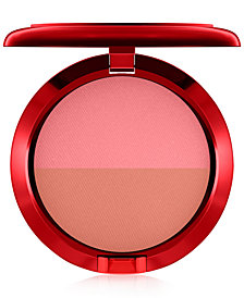 MAC Lucky Red Powder Blush Duo