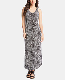 Karen Kane Floral-Print Maxi Dress