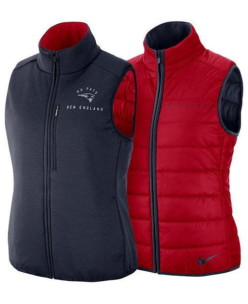 7dc10b478d3 Nike Women s New England Patriots Reversible Vest - Sports Fan Shop ...