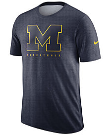 Nike Men's Michigan Wolverines Marled Legend Player T-Shirt
