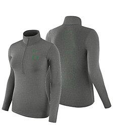 Nike Women's Oregon Ducks Hyperwarm Quarter-Zip Pullover