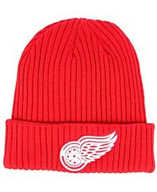 Fanatics Detroit Red Wings Double Dark Knit Hat