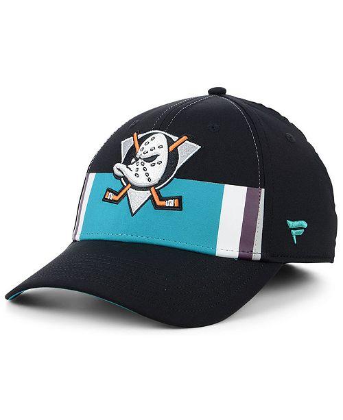 054e7b55dba ... Authentic NHL Headwear Fanatics Anaheim Ducks Alternate Jersey Speed  Flex Stretch Fitted Cap ...