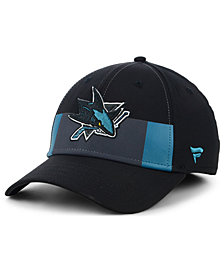 Fanatics San Jose Sharks Alternate Jersey Speed Flex Stretch Fitted Cap