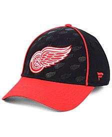 Fanatics Detroit Red Wings Dual Speed Flex Stretch Fitted Cap