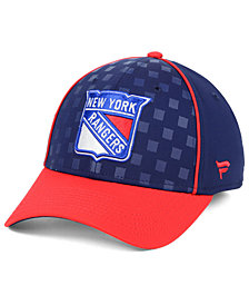 Fanatics New York Rangers Dual Speed Flex Stretch Fitted Cap