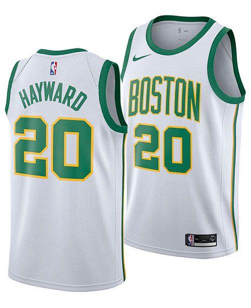 Nike Men's Gordon Hayward Boston Celtics City Swingman Jersey 2018