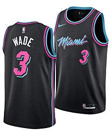 Nike Men's Dwyane Wade Miami Heat City Swingman Jersey 2018