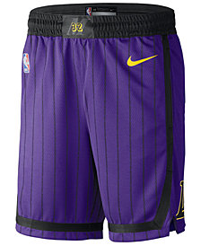 Nike Men's Los Angeles Lakers City Swingman Shorts