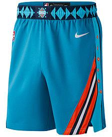 Nike Men's Oklahoma City Thunder City Swingman Shorts