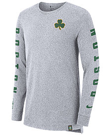 Nike Men's Boston Celtics City Elevated Long Sleeve Dry T-Shirt