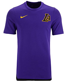 Nike Men's Los Angeles Lakers City Edition Shooting T-Shirt