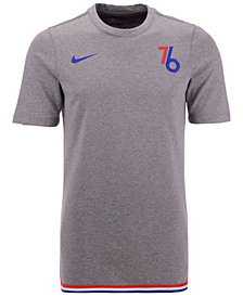 Nike Men's Philadelphia 76ers City Edition Shooting T-Shirt