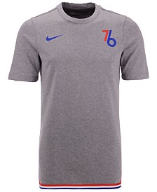 Nike Men's Philadelphia 76ers City Edition Shooting T-Shirt