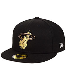 New Era Miami Heat Metal Mash Up 59FIFTY-FITTED Cap