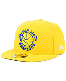 New Era Golden State Warriors Hardwood Classic Nights 59FIFTY Fitted Cap