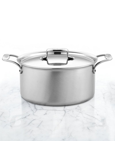 All-Clad D5 Brushed Stainless Steel 8 Qt. Covered Stockpot