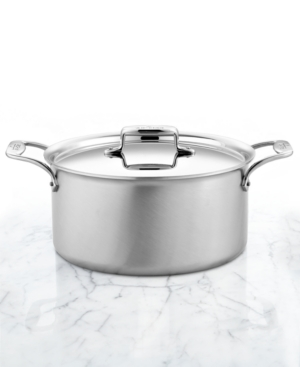 All-Clad D5 Brushed Stainless Steel 8 Qt.