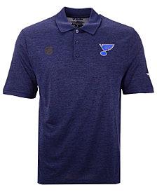 Authentic NHL Apparel Men's St. Louis Blues Pro Clutch Polo
